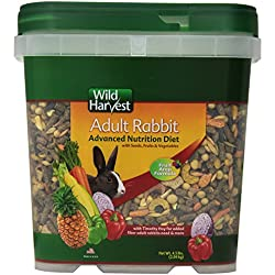 Wild Harvest WH-83544 Advanced Nutrition Diet for Rabbits, 4.5-Pound
