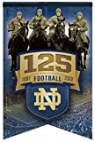 NCAA Notre Dame/4 Horsemen Premium Felt Banner 17-by-26