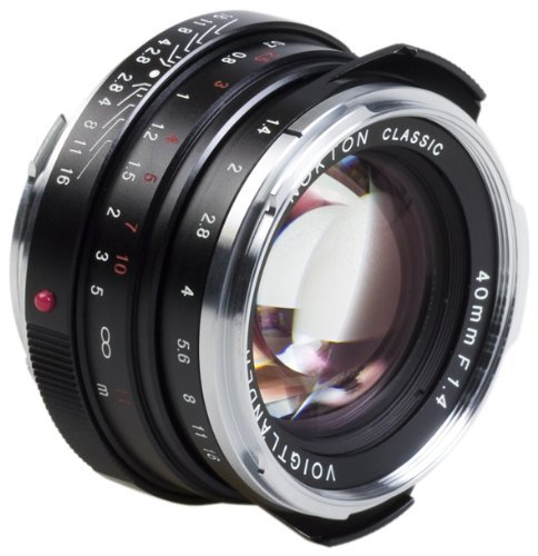 Voigtlander Nokton 40mm f/1 4 Wide Angle Leica M Mount Fixed Lens Blackの商品画像