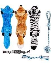 Toozey Puppy Toys - Puppy Toys vanaf 8 weken hondenspeelgoed voor kleine honden - hondenspeelgoed voor verveling - hondenspeelgoed voor puppy's & hondenknuffels - interactief hondenspeelgoed - natuurlijk katoen en niet giftig