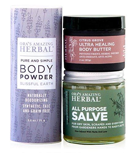 Natural Bodycare Set, Paraben Free Natural Moisturizer Cr...