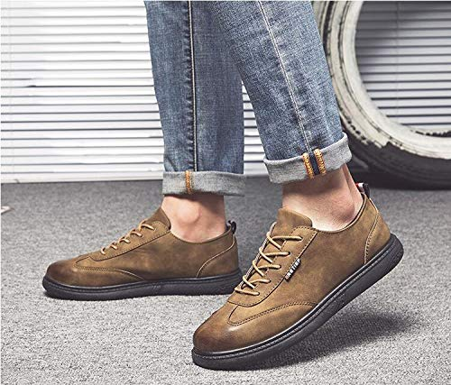 li Uomo Espadrillas EU Brown Marrone Shu 39 Basse li li Brown gHfnn17q
