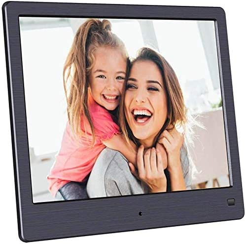 BSIMB Digital Picture Frame-Upgraded Digital Photo Frame 8 Inch 1024×768 Hi-Res Display Electronic Photo Frame with Remote Control Motion Sensor M12