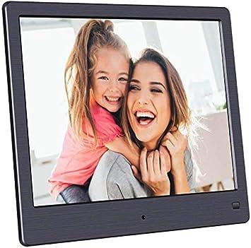Digital Photo Frame 15.4 inch LED Display 1280800 Hi-Res Digital Photo HD Video Frame and USB//SD Card Playback Infrared Remote Control,Black