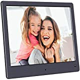 BSIMB Digital Picture Frame-Upgraded Digital Photo Frame 8 Inch 1024x768 Hi-Res Display Electronic Photo Frame with…