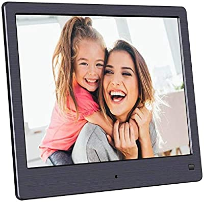 BSIMB Digital Picture Frame-Upgraded Digital Photo Frame 8 Inch 1024x768 Hi-Res Display Electronic Photo Frame