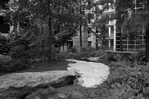 24 x 36 B&W Giclee Print Zones Change at Edward R. Roybal Building (CDC), Atlanta, Georgia 2009 Highsmith 36a