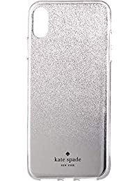 Womens Mirror Ombre Phone Case for iPhone¿ X Plus Silver One Size