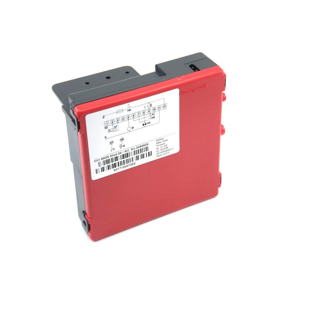 Bloque de control Honeywell DVI 980-N mod.04 code 0490604