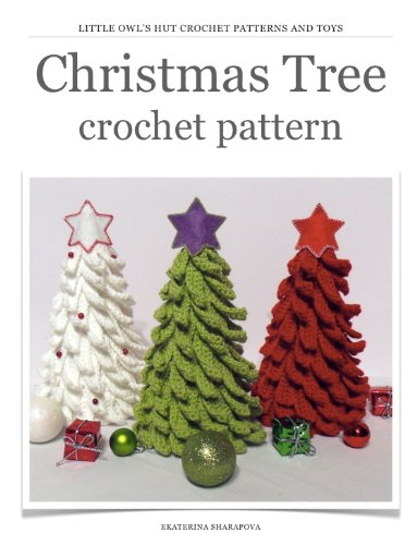 (Christmas Tree Crochet Pattern. New Year project)