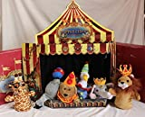 Restoration Hardware Murdock and Ross Hand Puppet Circus with Theater Stage