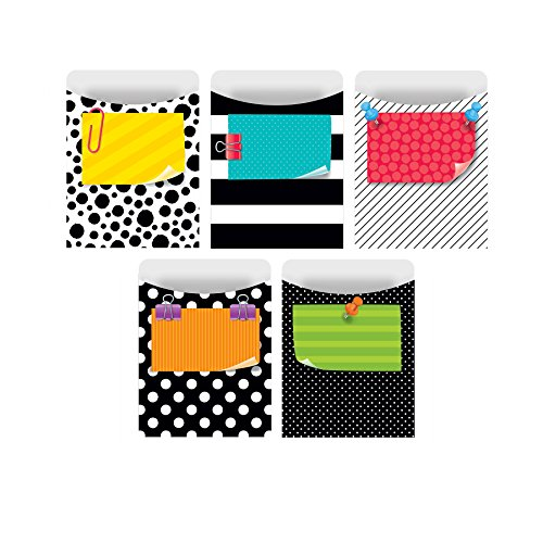 Creative Teaching Press Library Pockets Standard Bold & Bright Size  (7245)
