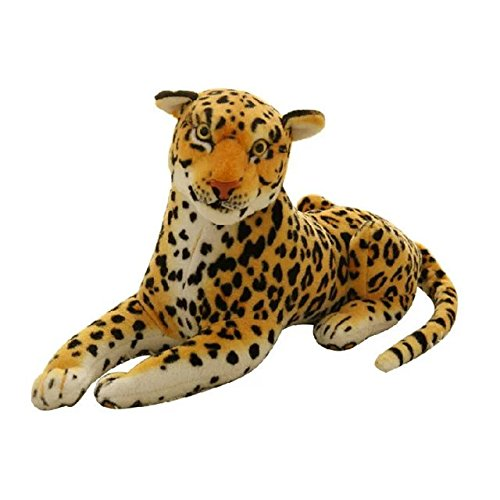 - KateDy Cute Plush Leopard Stuffed Animal Doll, Stuffed Animals Leopard Toy, 12 inches Length