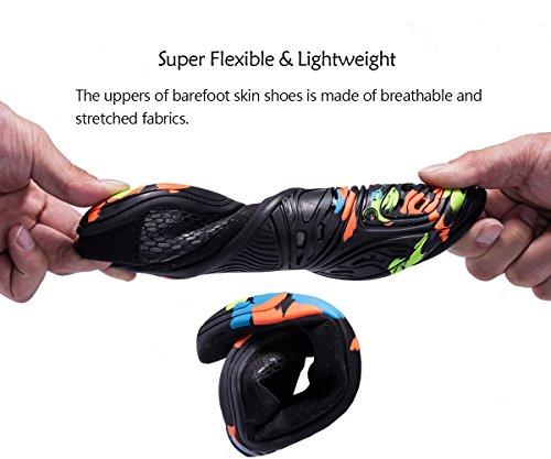 Quick Men Barefoot Lightweight Shoes Swim Black dry Water Women Skin Coleath 6FqxUAx