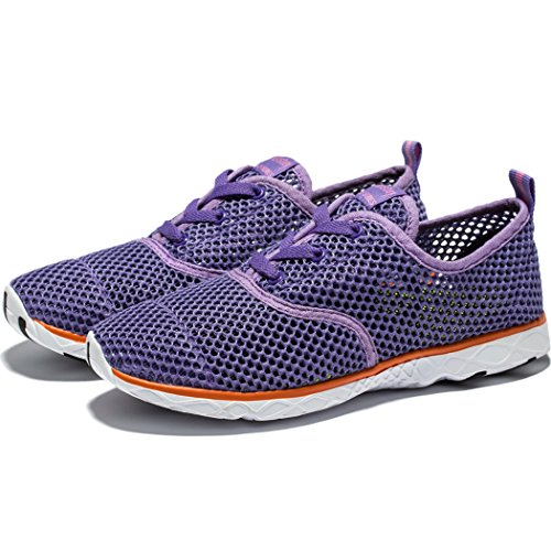 KENSBUY Shoes Unisex amp; Casual Purple Water Athletic Women's Shoes Breathable Couple Mesh Men qwTFqS