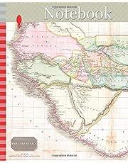 Notebook: 1818, Pinkerton Map of Western Africa, Niger Valley, Mountains of Kong, John Pinkerton, 1758 – 1826, Scottish antiquarian, cartographer, UK