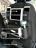 Autofurnish 3D Car Auto Seat Back Multi Pocket Storage Bag Organizer Holder Hanger Accessory (Black)