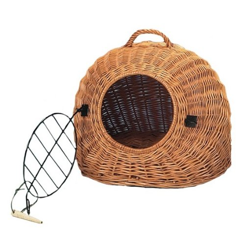Cat Basket with Grate and Carry Handle 50 cm