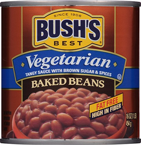 (BUSH'S BEST Vegetarian Baked Beans, 16 Ounce Can (Pack of 12))