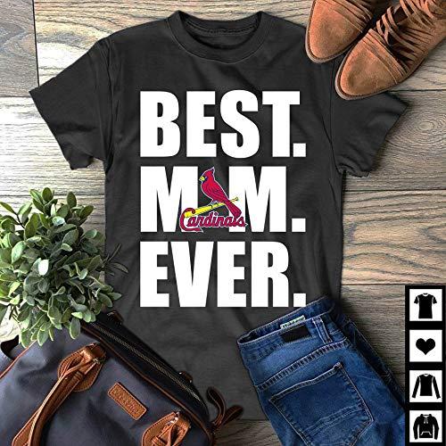 e1ae10d3 Amazon.com: Best Mom Ever St. Louis Cardinals T Shirt Gift: Handmade