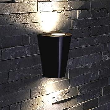 Faisceau Gu10 Descendant Murale Biard Extérieure Led Applique Noir Design Conique 4j3RSc5ALq