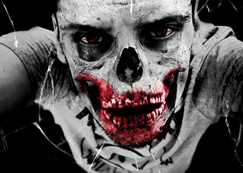 Zombie Halloween Devil Horror POSTER A3 print 12x18 Decor Home wall art Day of the Dead decal