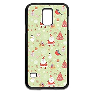 Samsung Galaxy S5 Cases Chirsmas Design Hard Back Cover Proctector Desgined By RRG2G