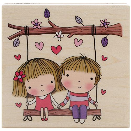 Penny Black 4297K Wood Mounted Rubber Stamp, Swinging