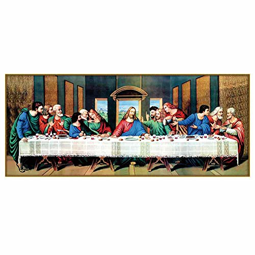 Last Supper 3D Special-shaped DIY Diamond Painting Cross Stitch