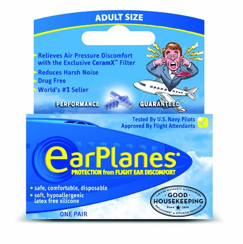 Travel Conair EarPlanes Flight Protection