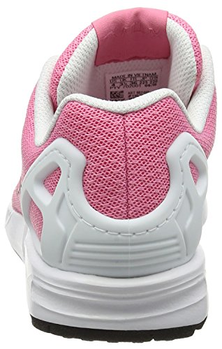 adidas Zx Flux, Zapatillas para Niños Rosa (Easy Pink/core Black/ftwr White)