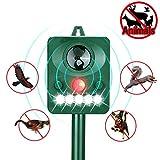 Wikoo Ultrasonic Animal Repeller, Solar Ultrasonic Animal Repeller...