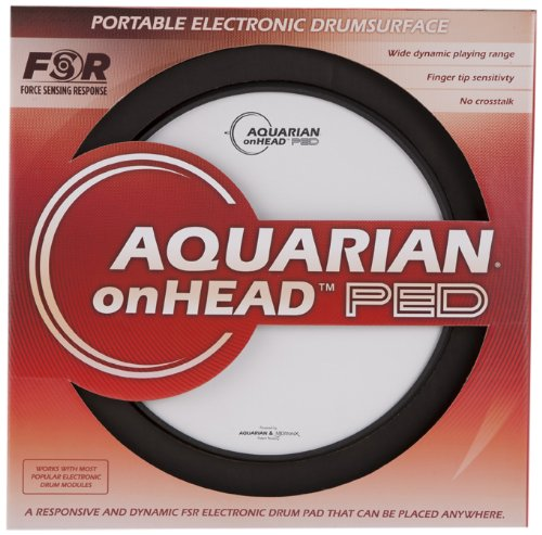 Aquarian Electro-Acoustic OHP12 Electronic Drum Pad by Aquarian
