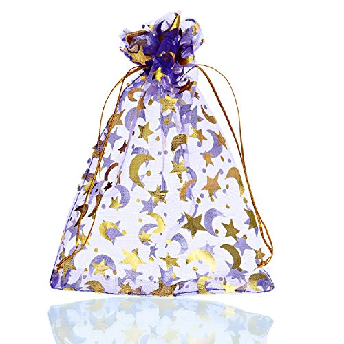 Housweety Organza Pouches Wedding Christmas