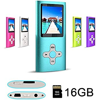 Amazon.com: G.G.Martinsen Pink Stylish 16GB MP3/MP4 Player With FM ...
