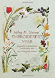 img - for Helen M. Steven's Embroiderer's Year book / textbook / text book