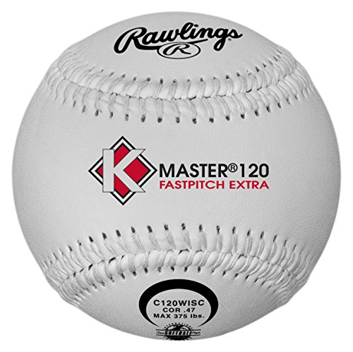 Rawlings ISA K-Masters Fastpitch Softball, 12 Count, C120WISC by Rawlings (Image #1)