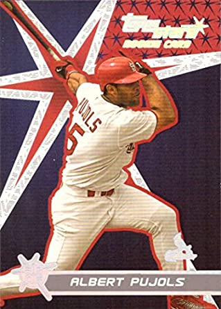 2001 Topps Stars Baseball 198 Albert Pujols Rookie Card