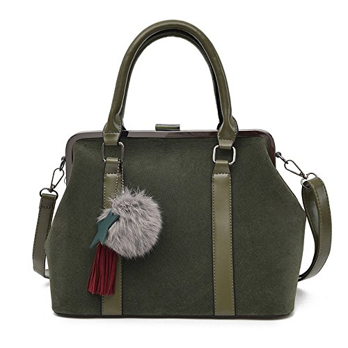 Bandoulière Mat Main BAILIANG Bandoulière à Sac à Simple Pinces Sac Mode Womens Green Sac XwSgq