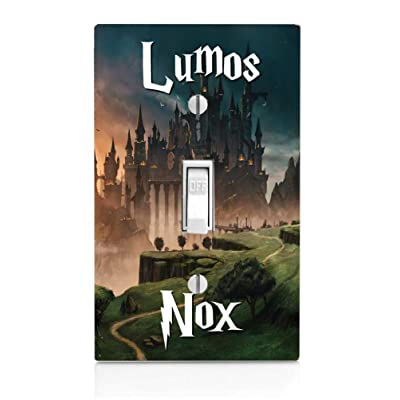Lumos Nox Castle Light Switch Plate: Kitchen & Dining