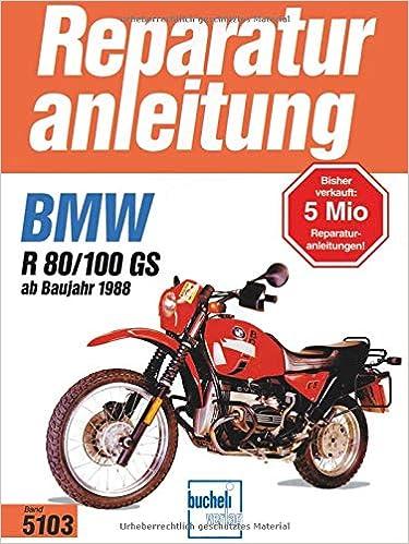 BMW BOXER R65 R80 R100 Reparaturanleitung Reparaturbuch Handbuch Buch Reparatur