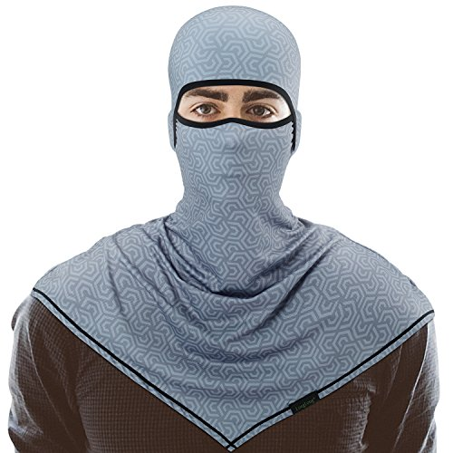 LongLong Balaclava - Windproof Elastic and Dust Moisture Wicking Outdoor Face Cover Hood for Cycling Motorcycle