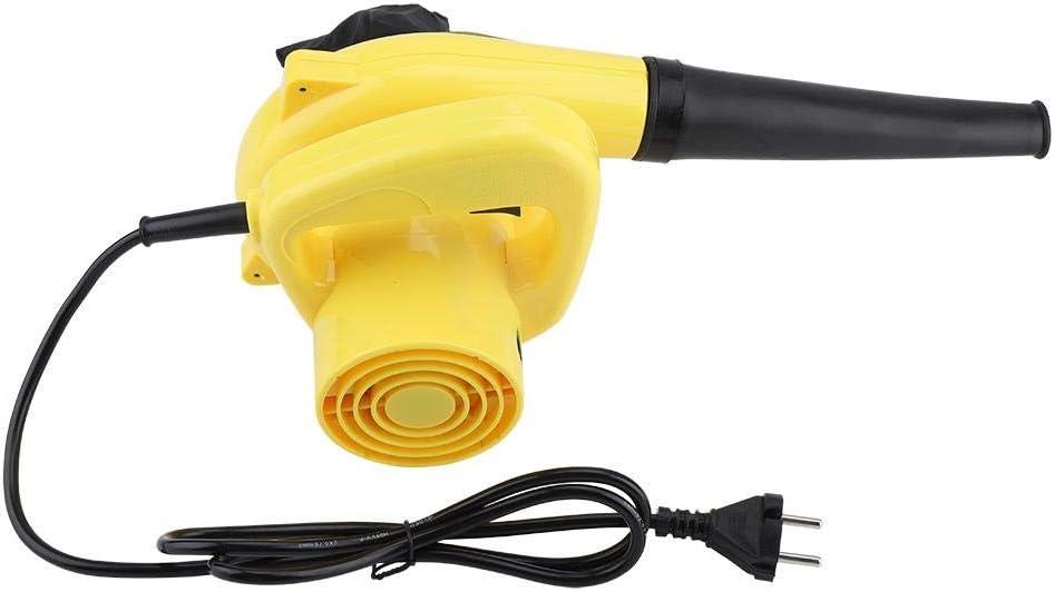 Aspirador eléctrico de Aire 600W Soplador de Hojas para Limpieza ...
