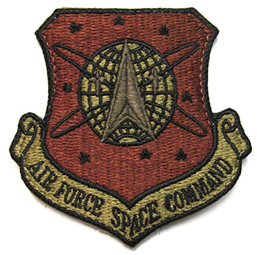 Air Force Space Command OCP Patch - AFSPC Spice Brown