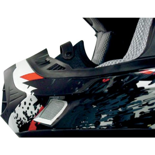 UPC 601913645038, AFX Helmet Breath Guard for FX-90 - Black 0134-1060