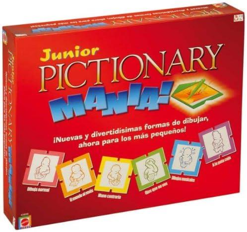 Mattel K5856 - Pictionary Mania Junior: Amazon.es: Juguetes y juegos