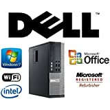 Optiplex Quad Core Desktop i7-2600 3.4GHz CPU Windows 7 Pro 24GB RAM/New 1TB Solid State Drive SSD/WiFi/PC Computer System + MS Office