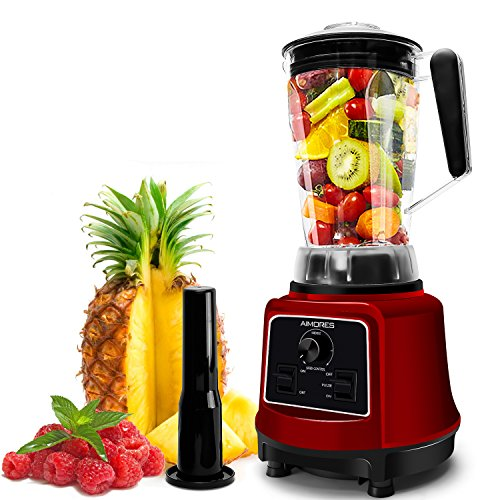 AIMORES Commercial Blender for Smoothie,Juice,Ice Cream,