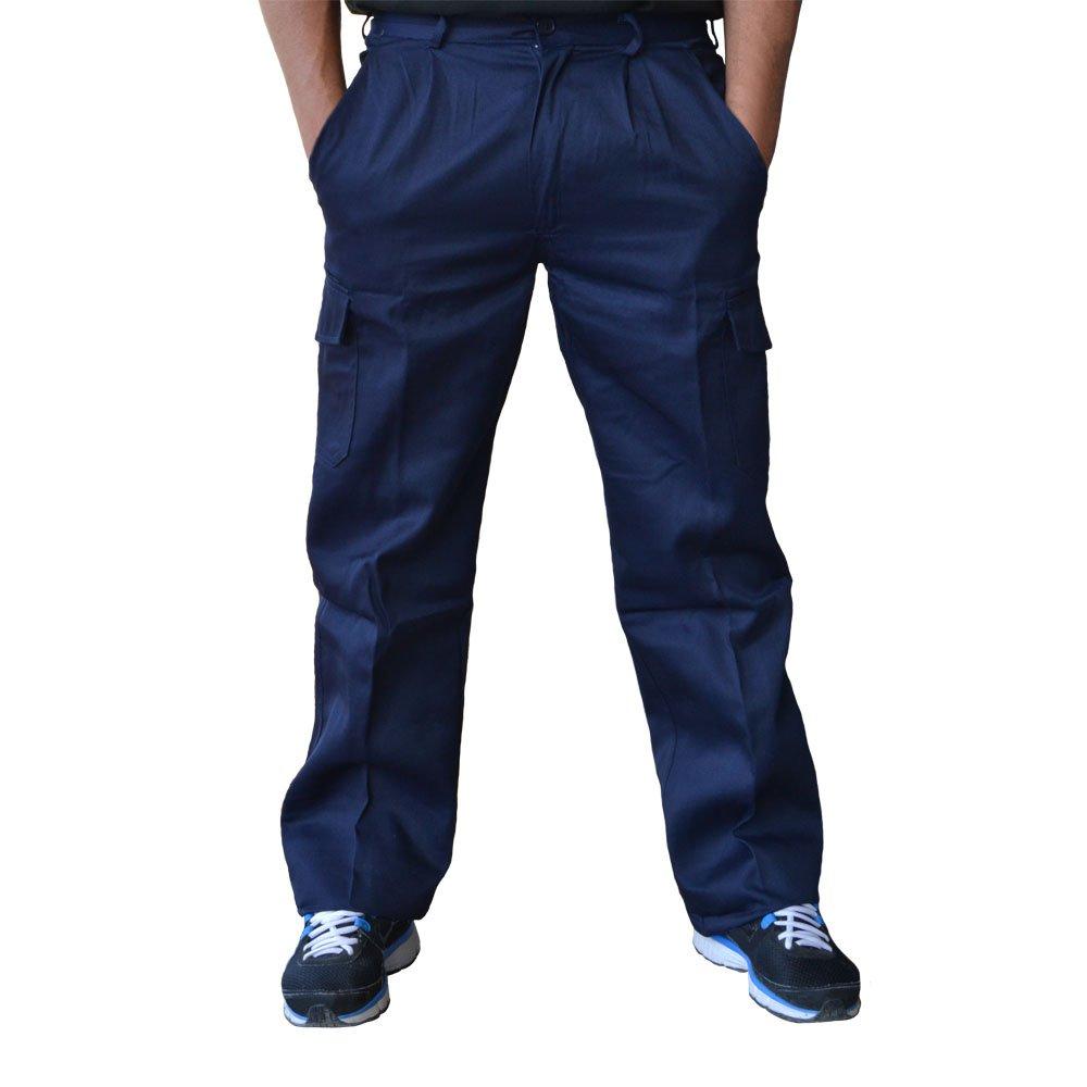 Talla 46 Azul marino Vesin PGM31 Pantal/ón de trabajo