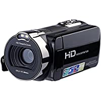 Camera Camcorder, Posunitech HD 1080P 24MP HDV-312 16X Digotal Zoom with 2.7 LCD Scrren and 270 Degree Rotation